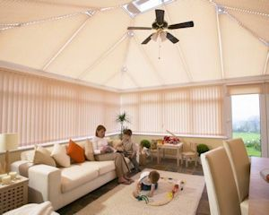 Conservatory blinds in East Lothian