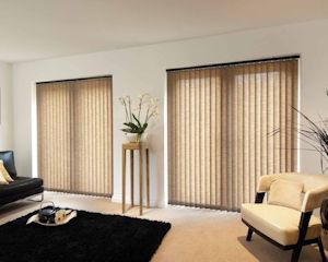 matching pair of lounge blinds